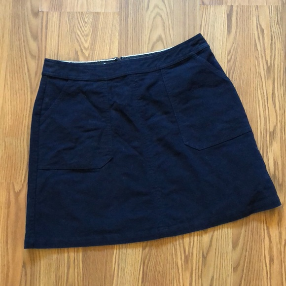 8337b9fed Boden Skirts | Navy Cotton Pocket Skirt | Poshmark